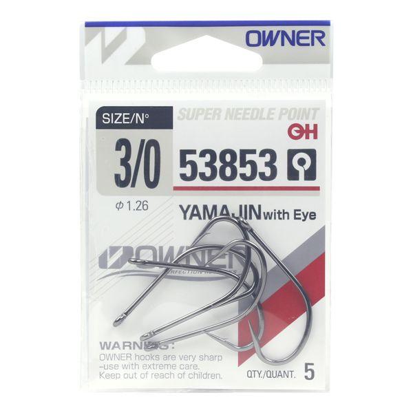 Anzol Owner Yamajin Maruseigo 53853 #3/0 - 5pç