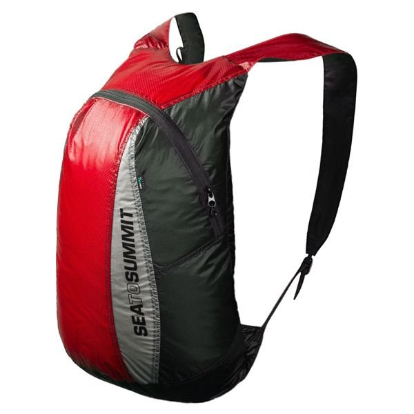 Mochila Estanque Sea To Summit Ultra Sil Daypack 20l - Vermelha