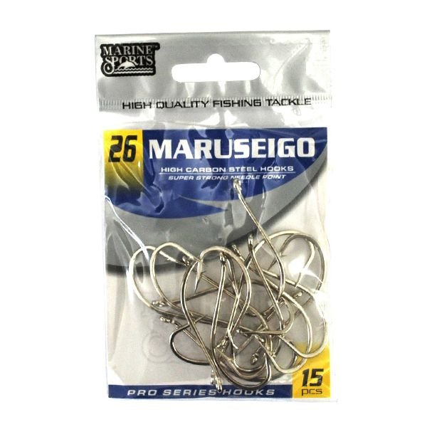 Anzol MS Maruseigo Nickel #26 - 15pçs