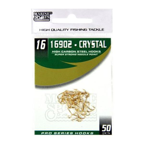 Anzol MS Crystal 16902 #16 - 50pçs