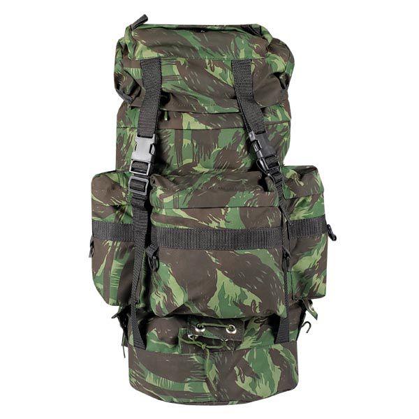 Mochila Militar PQD Nylon 48L - Camuflado EB