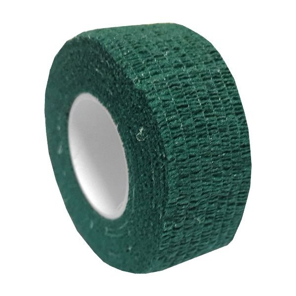 Fita p/ Dedos Albatroz Slim Green 2.5cm 5m - 2pç