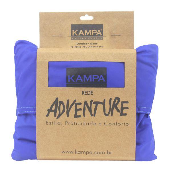 Rede de Descanso Kampa Adventure - Azul (410g Carga 150kg)