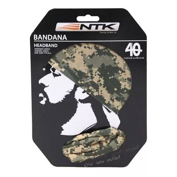 Bandana Headband FPS 50+ NTK - Desert Camo