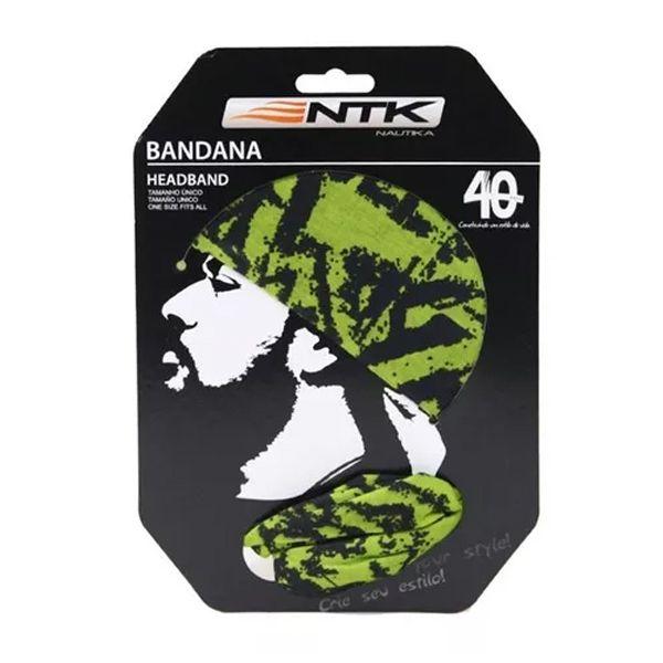 Bandana Headband FPS 50+ NTK - Grafite