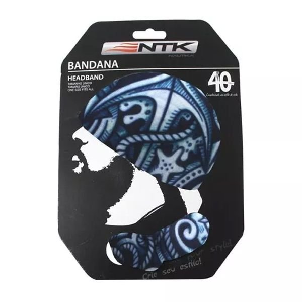 Bandana Headband FPS 50+ NTK - Marino