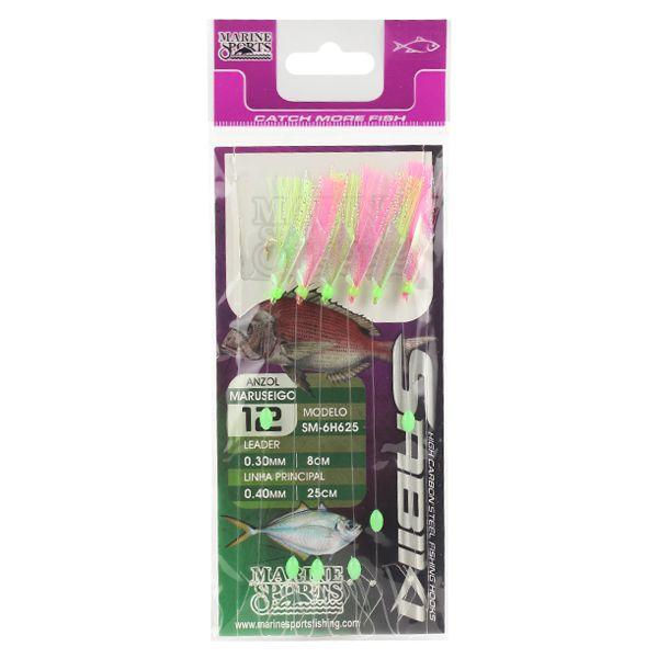 Isca Sabiki MS SM6H625 Verde/Rosa