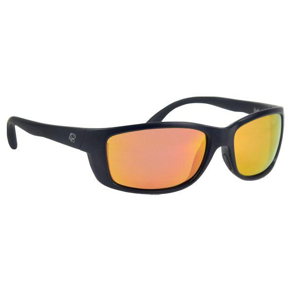 Óculos Polarizado Pro-Tsuri Mako - Preto Fosco / Lente Gold Mirror