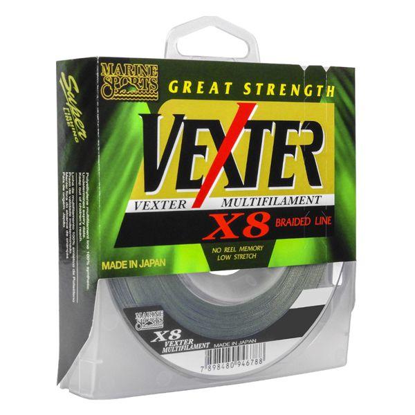Linha MS Vexter X8 Verde 300m - 15lb 0.15mm