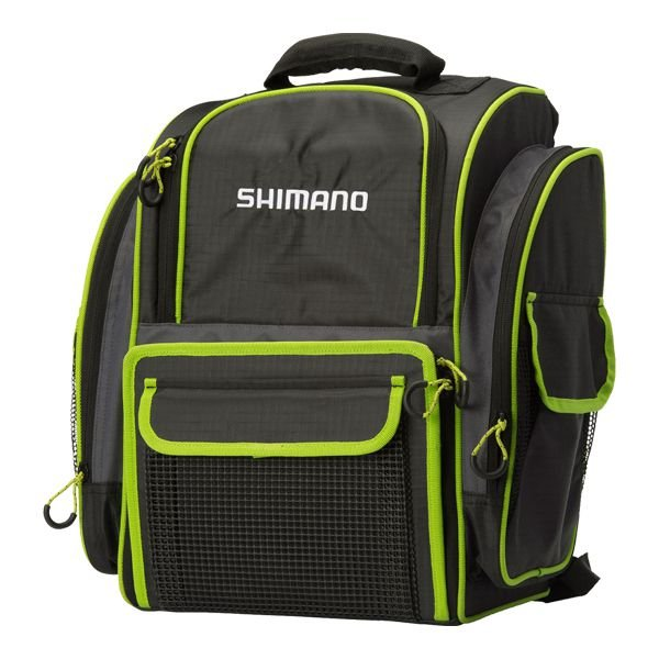 Mochila p/ Pesca Shimano Backpack 25L c/ 4 Estojos