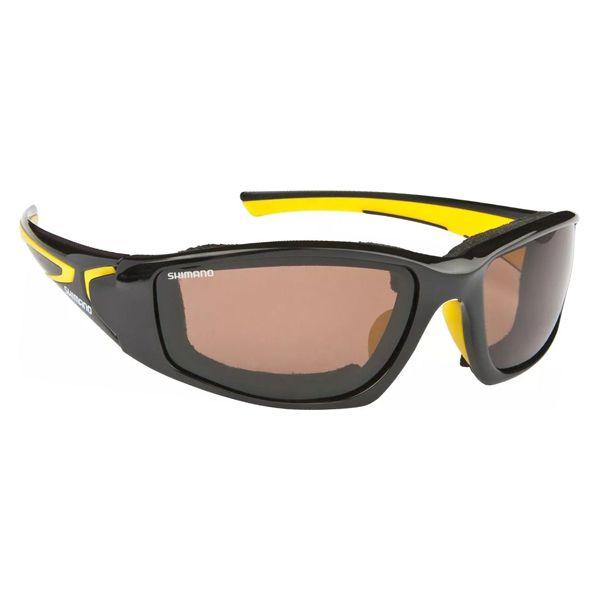 Óculos Polarizado Shimano Beastmaster Flutuante - Preto/Amarelo
