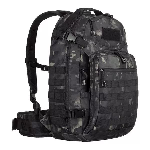 Mochila Tática Invictus Mission 45L  - Multicam Black
