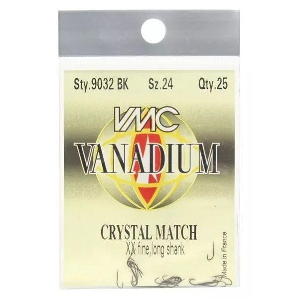 Anzol VMC Micro Vanadium Crystal Match #24 - 25pçs