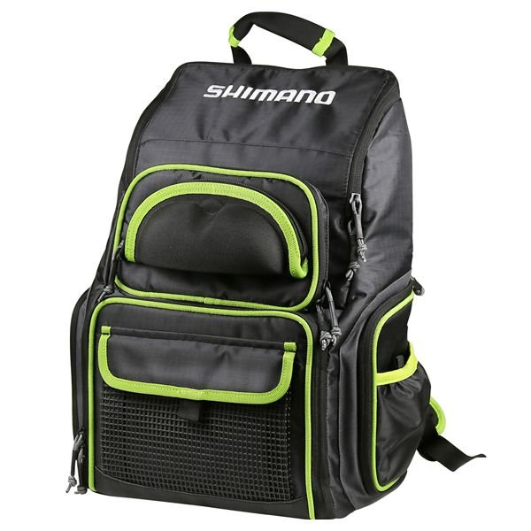 Mochila de Pesca Shimano Luggage XL Tacke Backpack com 4 Estojos