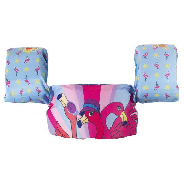 Colete Salva Vidas Infantil Ativa Kids até 25kg - Flamingo