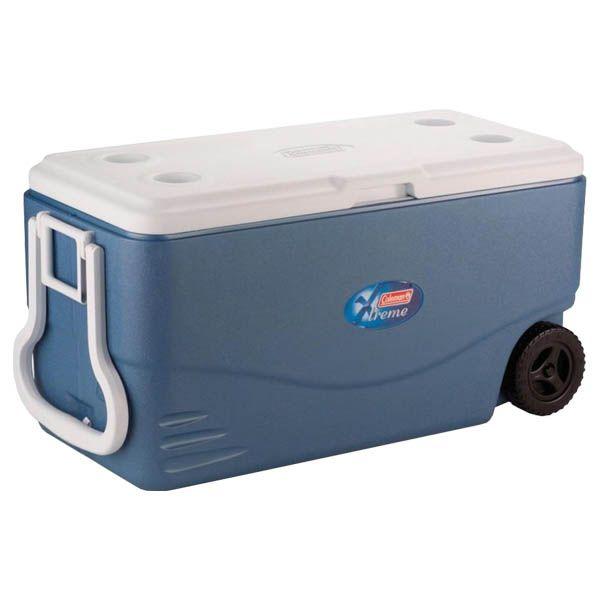 Caixa Térmica Coleman com Rodas Xtreme 100QT 95.0L - Azul