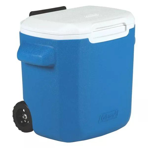 Caixa Térmica Coleman com Rodas 16QT 15.1L - Azul