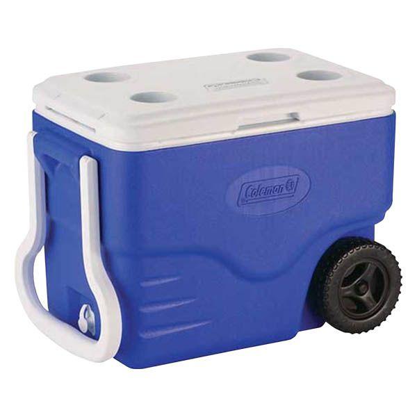 Caixa Térmica Coleman com Rodas 40QT 38.0L - Azul