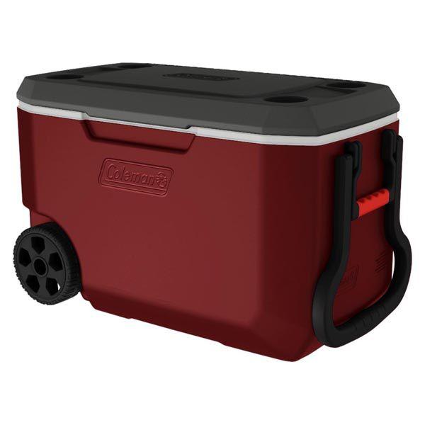 Caixa Térmica Coleman com Rodas Xtreme 62QT 58.0L - Vermelha