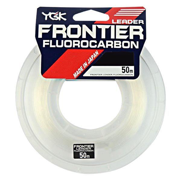 Linha Fluorocarbon YGK Frontier 50m - 35lb 0.56mm