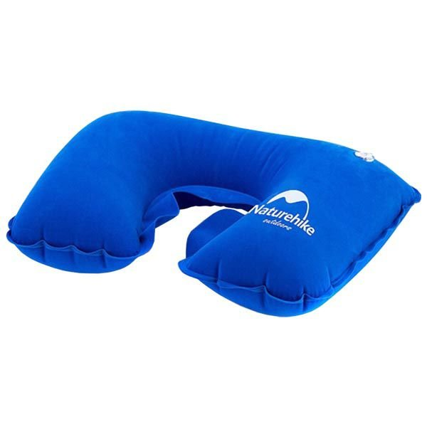 Travesseiro de Pescoço Inflável Naturehike Travel - Azul Escuro