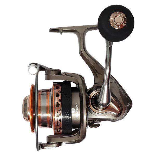 Molinete Long Cast Pesca Brasil Ocelos 6000