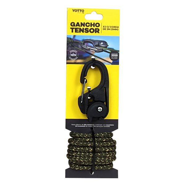 Gancho Tensor com Corda Yotto X2 2m 5mm