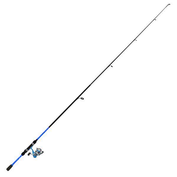 Kit de Pesca Okuma Vibe 1.80m 2P Azul (Completo)