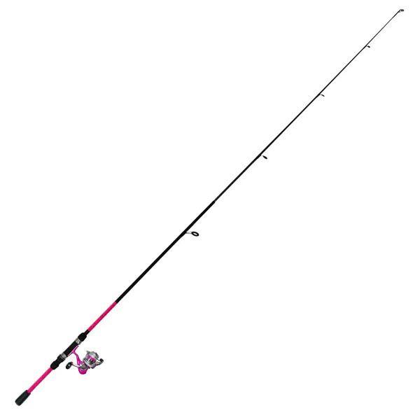 Kit de Pesca Okuma Vibe 1.80m 2P - Rosa