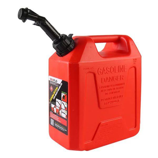 Tanque de Gasolina com Bico Seaflo 2.6 Galões 10 Litros