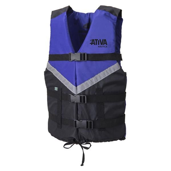Colete Náutico Ativa Canoa 2.0 140kg - Azul