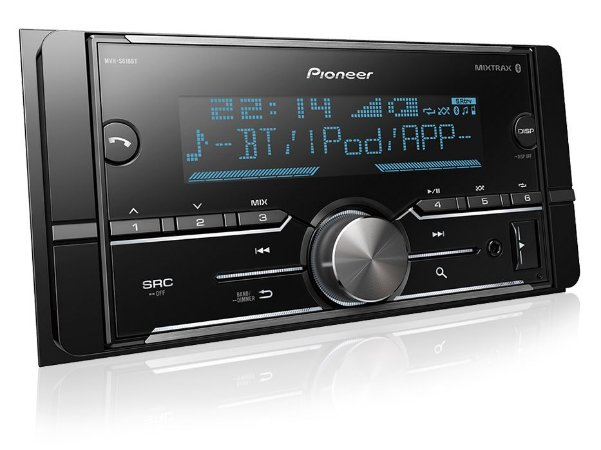 Pioneer Media Receiver 2 Din Mvh-s618bt Usb Bluetooth