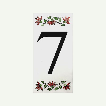 Cerâmica Floral Nº 7