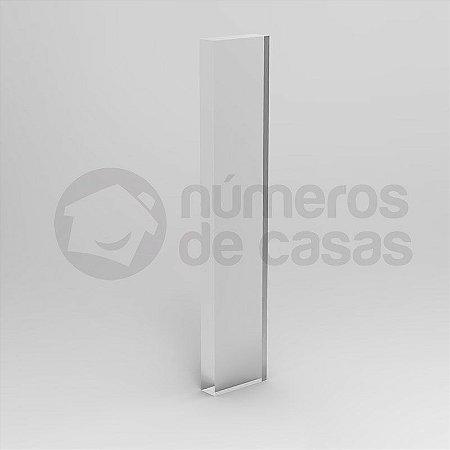 """Letra """"I"""" de Acrílico 20cm"""