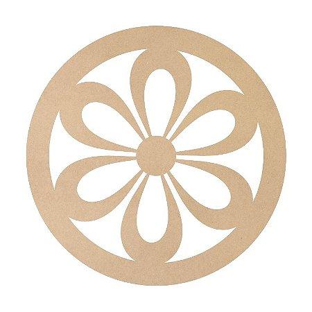 Mandala em Mdf Crú 50cm ACC005