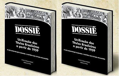 2 exemplares do Dossiê - Unificação dos Títulos Brasileiros a partir de 1959 + com dedicatória do autor + frete grátis