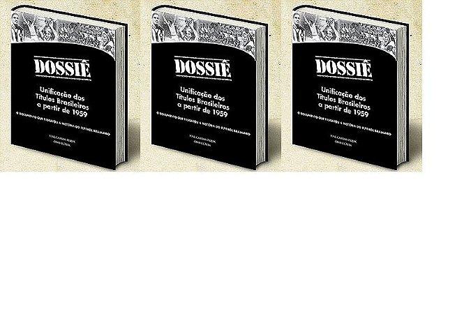 3 exemplares do Dossiê + frete pago + dedicatórias (definir os nomes pelo e-mail blogdoodir@blogdoodir.com.br) por apenas 75 reais