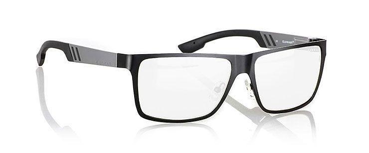 Óculos Gunnar Vinyl Onyx Gunmetal Crystalline com Grau - Lente Premium