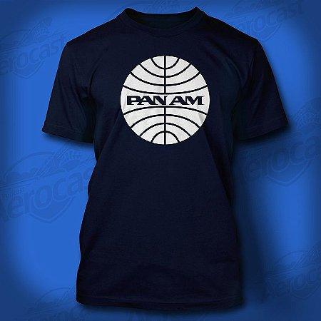 Camiseta PANAM (azul)