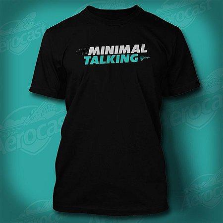 Camiseta PF1BR - Minimal Talking