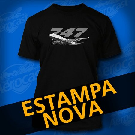 Camiseta 747 The Queen Of The Skies