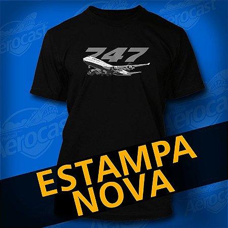 Camiseta 747 The Queen Of The Skies
