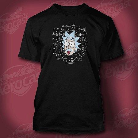 Camiseta RickEinstein Preta