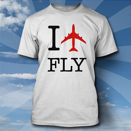 Camiseta I LOVE FLY