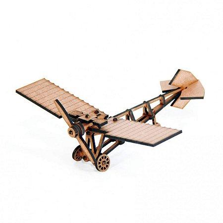 Avião - Miniatura para montar Demoiselle