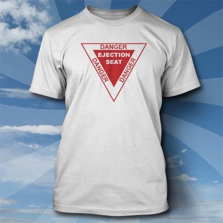 Camiseta Danger Ejection Seat