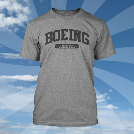 Camiseta Boeing College