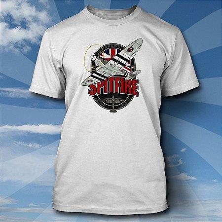 Camiseta Spitfire v2 - BRANCA
