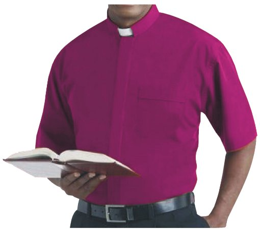 Camisa Clerical MC GD 0008