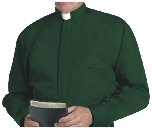 Camisa Clerical ML GD 0005